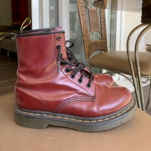 Cherry Red Dr. Martens
